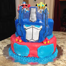 optimus prime cakes rescue bots and transformers birthday party happy and blessed home