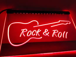 aliexpress com buy lb303 rock and roll guitar music new led neon