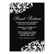 enchanting black and white invitation cards 66 for reunion