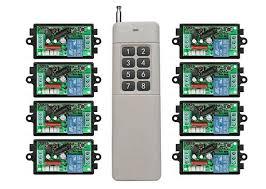 long range remote control light switch 3000m long range ac220v 1ch rf wireless remote control relay switch