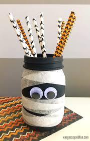 Mummy Crafts For Kids - mason jar mummy easy peasy and fun