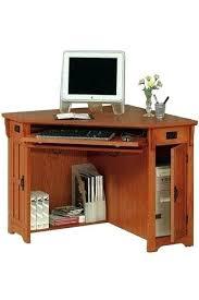 Small Corner Computer Desks For Home Oak Corner Computer Desks For Home Small Corner Desk Corner