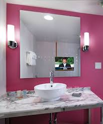 bathroom tv ideas bathroom mirrors tv in the bathroom mirror wonderful decoration
