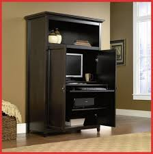 Black Computer Armoire Excellent Computer Desk Armoire To Home Decor Furniture