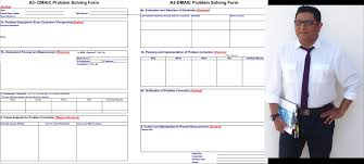 dmaic report template lean manufacturing six sigma a3 and dmaic improving the