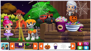 paw patrol halloween nick jr sticker pictures halloween with bubble guppies paw patrol