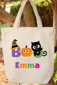 halloween trick or treat bags name htv glitter plain candy sacks