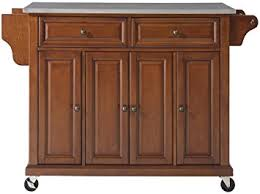 Kitchen Furniture Island Crosley Furniture Rolling Kitchen Island With