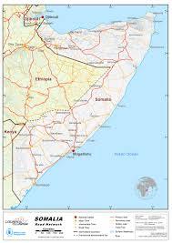 Map Of Somalia 2 3 Somalia Road Network Logistics Capacity Assessment Wiki