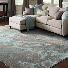 abstract marble blue grey rug 3 u002710 x 5 u00275 free shipping today