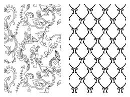 amazon com pocket posh coloring book pretty designs for