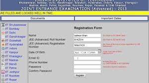 how to register for jee advanced web counseling to fill and lock