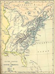 The Thirteen Colonies Map Maps