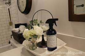 Navy Blue Bathroom by Honey I U0027m Home Navy Blue Bathroom