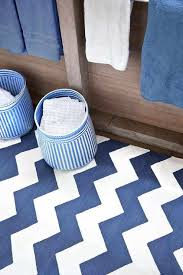 unusual ideas design blue and white chevron rug stunning blue and