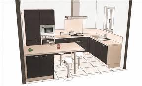 plan de cuisine avec ilot plan de cuisine avec ilot central des photos avec charmant plan de