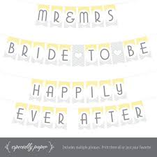 bridal shower banner phrases 26 best printable banners by especially paper images on