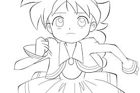 anime coloring pictures