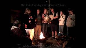 Propane Camping Fire Pit Rvers Reviewing Campfire In A Can Portable Propane Fire Pit For