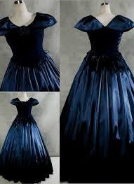 blue gothic victorian dress naf dresses