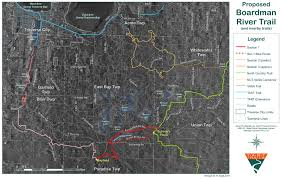 Michigan River Map by Ati Consulting Northwestern Michigan Trail Guide For Hiking