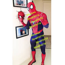 compare prices on amazing spider man spandex suit online shopping
