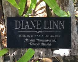 grave markers decoration etsy