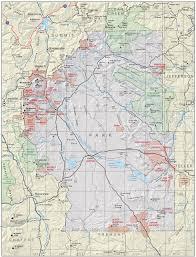 Kenosha Map Park County Colorado Geological Survey
