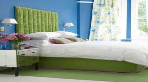 Green Bedroom Walls by 69 Colorful Bedroom Design Ideas Digsdigs Blue Green Bedroom
