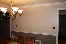 Two Tone Walls Download Dining Room Color Schemes Chair Rail Gen4congress For