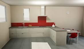 cuisine facade verre conception d une cuisine façade en verre laqué gris plan de