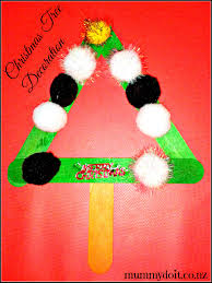 4 popsicle stick christmas decorations for the kids to make the