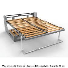 mécanisme canapé convertible lit armoire canapé mbed à nantes rangeocean murphybed