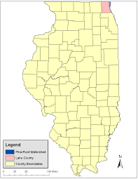 Lake County Illinois Map by Natural Resources Damage Assessment