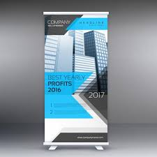 layout banner template roll up stand banner template layout download free vector art