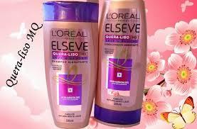 Common Shampoo e Condicionador Hidratante Linha Elseve Quera-Liso @MG83