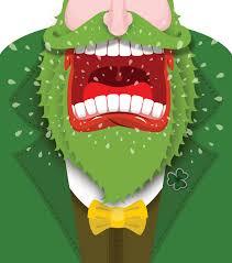 Sho Green leprechaun shout angry shout scary gnome green beard sho