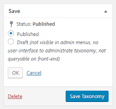 adding custom taxonomies to wordpress and creating archives