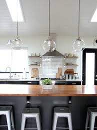 Breakfast Bar Pendant Lights Great Tips From House Tweaking On How To Clean The West Elm Globe