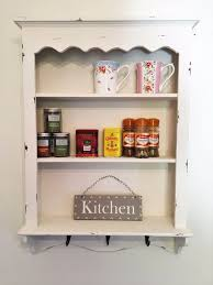 Shabby Chic Kitchens by Kitchen Style Marvelous Shabby Chic Kitchen Wall Unit Shelf