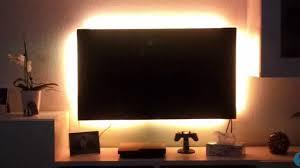 Beleuchtung Wohnzimmer Fernseher Tv Led Hintergrundbeleuchtung Nachrüsten Selber Bauen Youtube