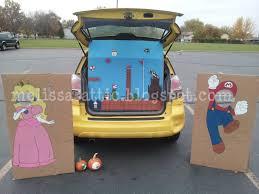 Halloween Trunk Decorations Melissa U0027s Attic Our Super Duper Super Mario Bros Halloween Part