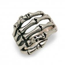 classic skeleton ring holder images Mens rings wholesale sterling silver mens black rings for sale jpg