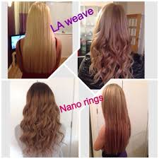 Synthetic Vs Human Hair Extensions by Weave Hair Extensions West London Tape On And Off Extensions