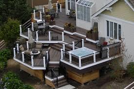 Backyard Decks And Patios Ideas by West Coast Decks Custom Deck Design U0026 Construction Seattle