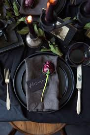 Beautiful Decoration Element Spooky Halloween Table Decoration Ideas Easyday