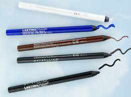Maybelline Gel Eyeliner Review maybelline lasting drama waterproof gel eye pencil review swatch