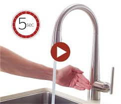 pfister selia kitchen faucet touch free electronic faucets with react technology pfister faucets