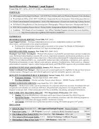 Resume Sample Paralegal by Market Research Resume Sample Splixioo