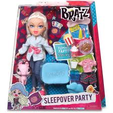 bratz sleepover party doll cloe walmart